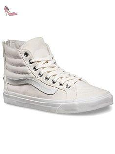 UA Sk8-Hi, Sneakers Hautes Homme, Beige (Mono Canvas), 40.5 EUVans