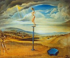 Salvador Dali – Fountain of Milk Spreading Itself
