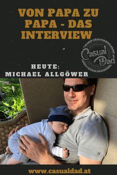 Heute im Interview: Michael Allgöwer. Er hat einen Kleidergrößenrechner entwickelt und verrät uns, was des damit auf sich hat! Data Science, Interview, Blog, Dads, Mens Sunglasses, Casual, Poster, Daddy And Son, Father And Baby