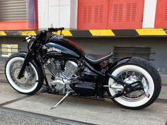 Honda Bobber, Bobber Bikes, Harley Bobber, Harley Bikes, Bobber Motorcycle, Concept Motorcycles, Custom Motorcycles, Custom Bikes, Motorcycle Equipment