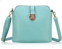 Túi xách nữ thời trang, thuần màu khóa cài trẻ trung, mẫu mới giản dị