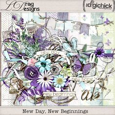 New Day, New Beginnings:the kit by LDrag Designs