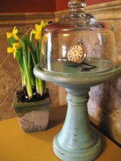 West Furniture Revival: IF I COULD SAVE TIME IN A CLOCHE