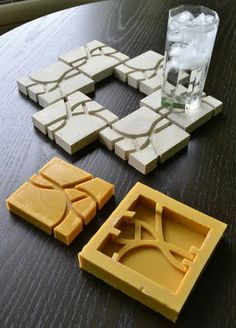 At the suggestion of friends I decided to set up an Etsy Store, Concrete Thinking , where I would offer for sale some of my concrete casts.