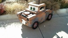 Mater costume to fit over his wheelchair