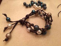 Stormy Seas Bracelet (Customer Design) - Lima Beads