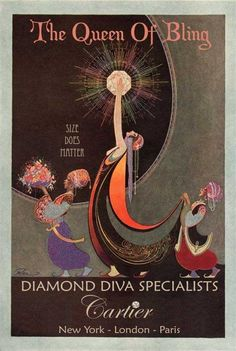 #oldstnewrules #artdeco #art #design #illustration #poster #vintage #fashion #luxury #chic #floral #queen #bling #diamonds