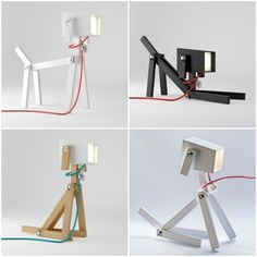 A Lamp With A Puppy Personality: LUMINOSE / Elizabeth Zimmerer an Marton Lente