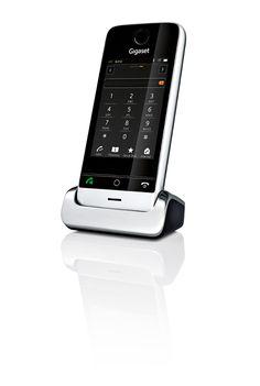 Zo heeft Gigaset een draadloze vaste telefoon uitgebracht met touchscreen, hierbij hebben de gebruikers de zekerheid van een vaste telefoonlijn maar hebben ze ook een telefoon die er goed uitziet.