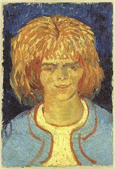Girl With Ruffled Hair (The Mud Lark), Arles, 1888, Vincent van Gogh