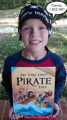I See Me- Personalized Children's Books About I See Me  My Very Own Pirate Tale and Personalized Bandana Gift Set #Review #ChristmasMDR14
