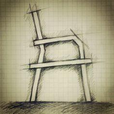 Bon Furniture Sketch #furniture #sketch #design #art #drawing #concept #draw