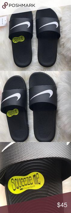 0ac67809b850 Nike rare NWT kawa slides sandals black Brand new Nike kawa slides. Size 6  youth