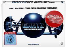 Gantz - Die komplette Saga Special Fan Edition 3DVD 2Blu-Rays Booklet Postkarten