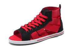 316eb9a17af5e4 Canada Converse Converse Open Toe Red Black Gore Summer All Star Roman  Sandals - Please note  converse sandals are normal size.Converse chuck  taylor all ...