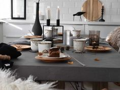 Tablesetting! Styling. Interior, Home, Table Settings, Taper Candle, Interior Design