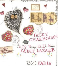 Jacky  Charmouan postal art cool!