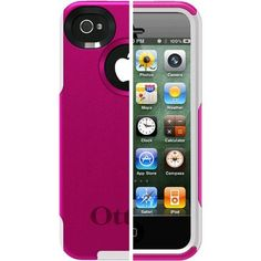 Otterbox Commuter Series Hybrid Case for iPhone 4 & 4S  - Retail Packaging - AVON Hot Pink/White by OtterBox, http://www.amazon.com/dp/B005SUHRVC/ref=cm_sw_r_pi_dp_N5W4rb0BWA33N