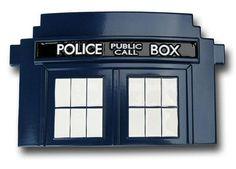 TARDIS belt buckle