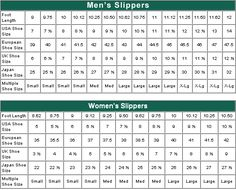 16 Best Shoe Size Chart Images In 2016 Loafers Slip Ons Make