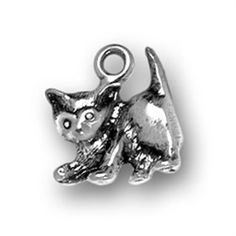 Hunger Games Inspired Playful Kitten Charm