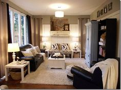 This bungalow has great ideas for a smaller home. Lots of pictures!