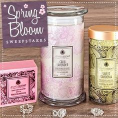Jewel scent - each product has a ring in it valuing 10$-7500$ They sell candles, soup, and aroma beads.