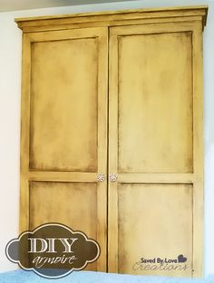 Ana White Armoire Plan #woodworking @savedbyloves