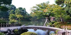 """Kenrokuen (兼六園) is justifiably classified as one of Japan's """"three most beautiful landscape gardens""""."""