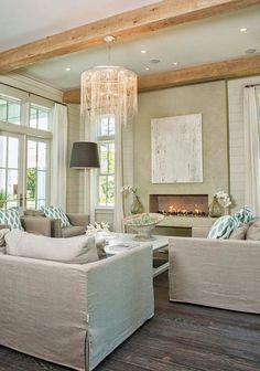 coastal living room | Maison de VIE