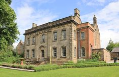 Enjoy a cottage holiday at Lea Hall. Experience Victorian opulence and grandeur in this Grade II* listed manor house, childhood home of the world-renowned Lady with the Lamp, Florence Nightingale. Amazing Buildings, Luxury Holidays, Derbyshire, Mansions, History, Architecture, House Styles, World, Places