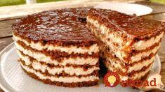 Úžasná torta – bez varenia, bez pečenia: Pečené korpusy už nerobím, každý chce len túto krémovú bombu! Tiramisu, French Toast, Food And Drink, Baking, Breakfast, Ethnic Recipes, Fit, Cooking Recipes, Kochen