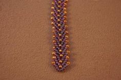 Double St. Petersburg Chain Beading Stitch Tutorial