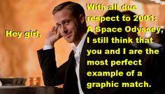 Film Studies Ryan Gosling : Photo