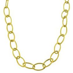 This highly polished necklace features tube cable links. Crafted of 14-karat yellow gold, this necklace secures with a lobster claw clasp.