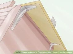 Image titled Build a Captain's Bed from Two Dressers Step 7