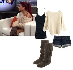 My idea of the perfect outfit...casual and comfy yet still very fashionable!!!