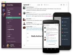 Startups like Slack are trying to ramp up workplace productivity by replacing   email with chat