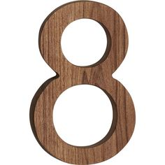 reclaimed teak house number 8  | CB2