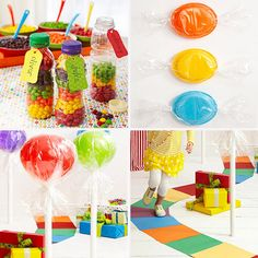 Sweet Ways To Make A Thrifty Candy Themed Party Parents Magazing