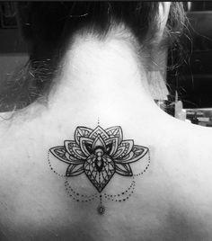 My new tattoo  Lotus Mandala