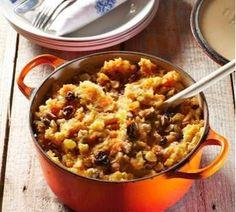 Paleofit - Zuurkool met zoete aardappel, rozijnen, ananas en spek