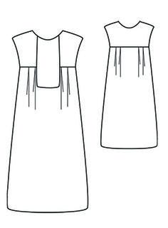 robe/blouse Aréli - République du chiffon (patron gratuit)