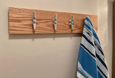 Wall Decor Beach Nautical Hook Clothes Coat Towel Bathroom Entryway Gift NEW