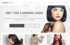 Excellent responsive #Joomla 3.x #template for #hairdresser, spa, fashion stylist or even #fitness gym!