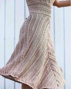 Платье Грейс Келли. Ванесса Монторо.(Песочные часы) - Вязание - Страна Мам