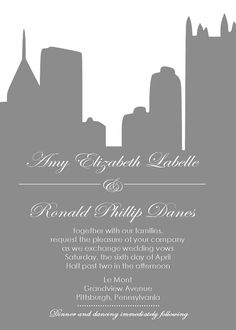 Pittsburgh Pirate Themed Wedding Invitation Tickets Themed