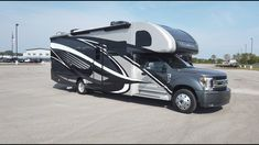 The 2020 Magnitude is a brand new luxury Super-C built standard on the Ford chassis. Camping Gear, Camping Trailers, Car Camper, Campers, Class C Motorhomes, Class B, Thor, Outdoor Gear, 4x4