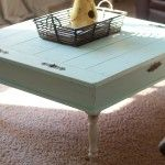 DIY coffee table redo |trash to treasure