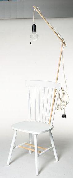 For sale! Uniek ontwerp van Carina vd Bergh voor #101woonideeen t.b.v. Kika www.kika.nl #uniquedesign #chairity #woonbeurs http://cargocollective.com/carinavandenbergh